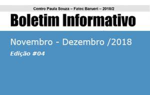 Boletim Fatec Barueri 2020, Ano #02 - Edição #04