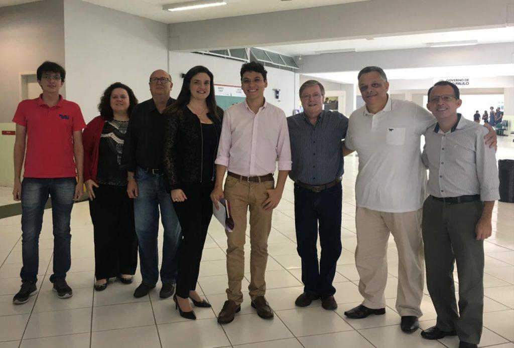 Coordenador da Secretaria de Desenvolvimento Econômico de São Paulo visita Fatec Barueri