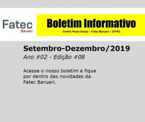 Boletim Fatec Barueri 2020, Ano #02 - Edição #08