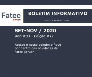 Boletim Fatec Barueri 2020, Ano #03 - Edição #11